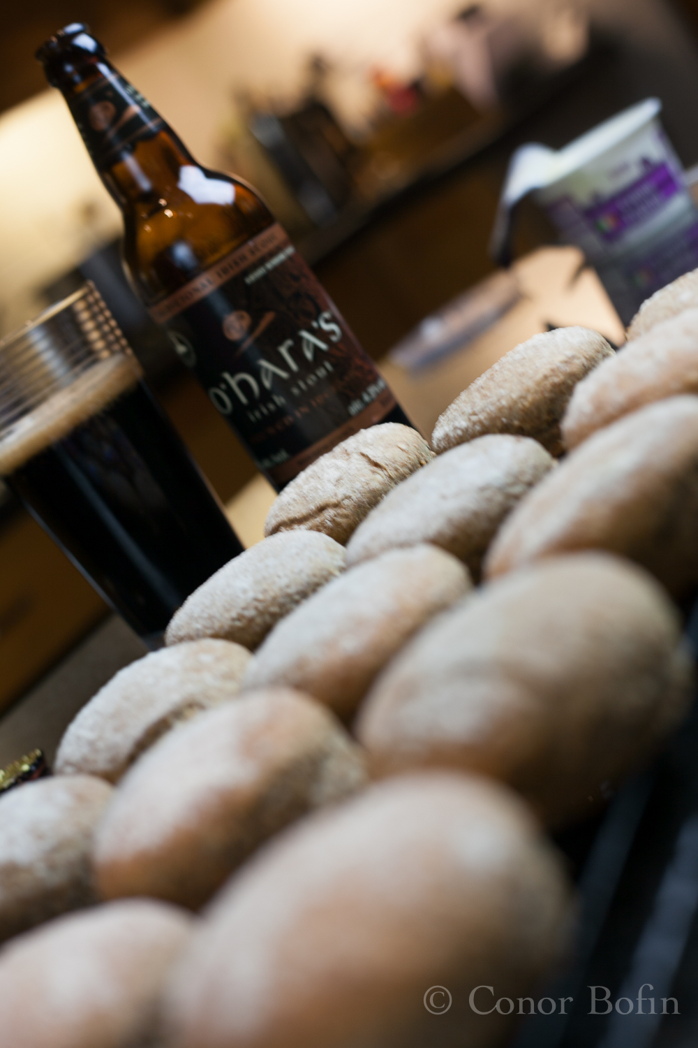 While the scones are cooling down, perhaps the other bottle of O'Hara's?