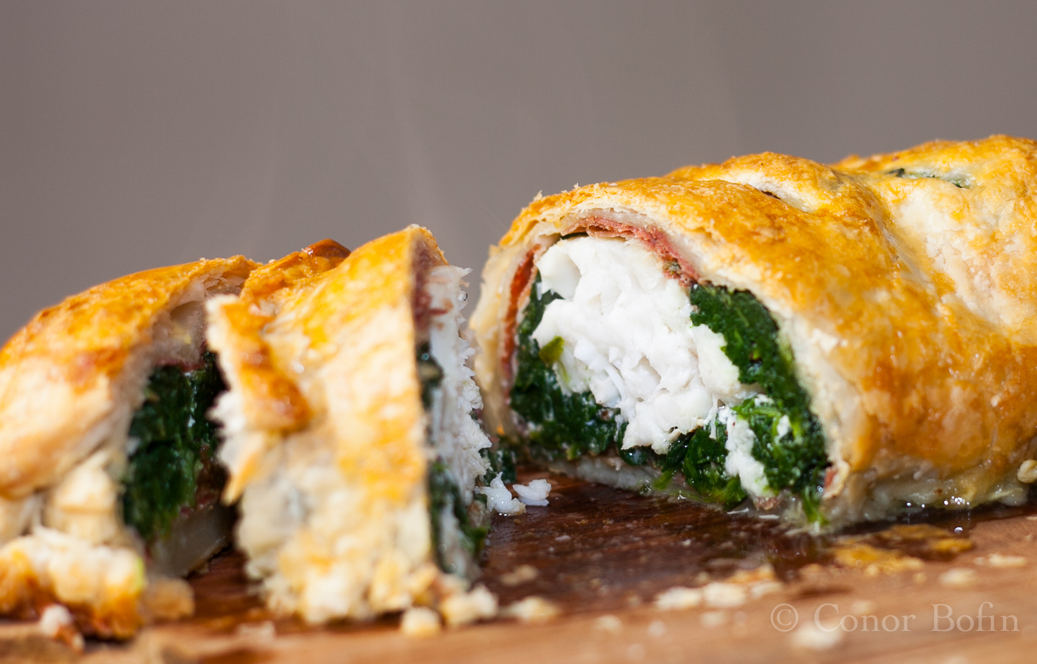 The wisdom of the monk part 2 monkfish wellington one for Monk fish recipes