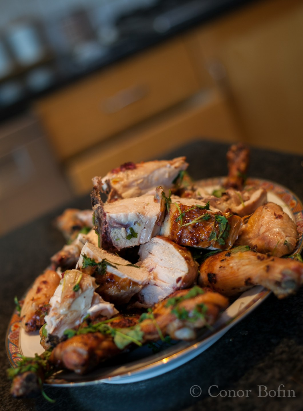 Truly delicious chicken pieces, infused with the flavours of lime and coriander.