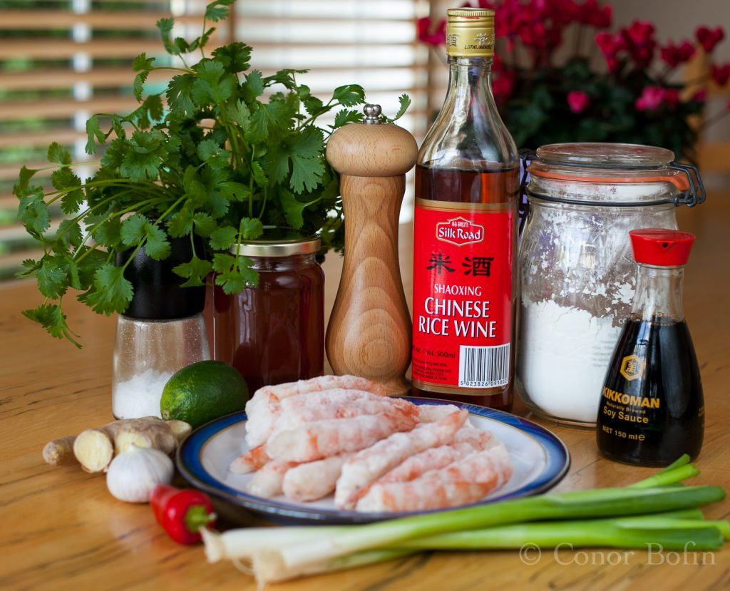 These frozen Argentinian prawns. Don't get brain freeze. Work it out!