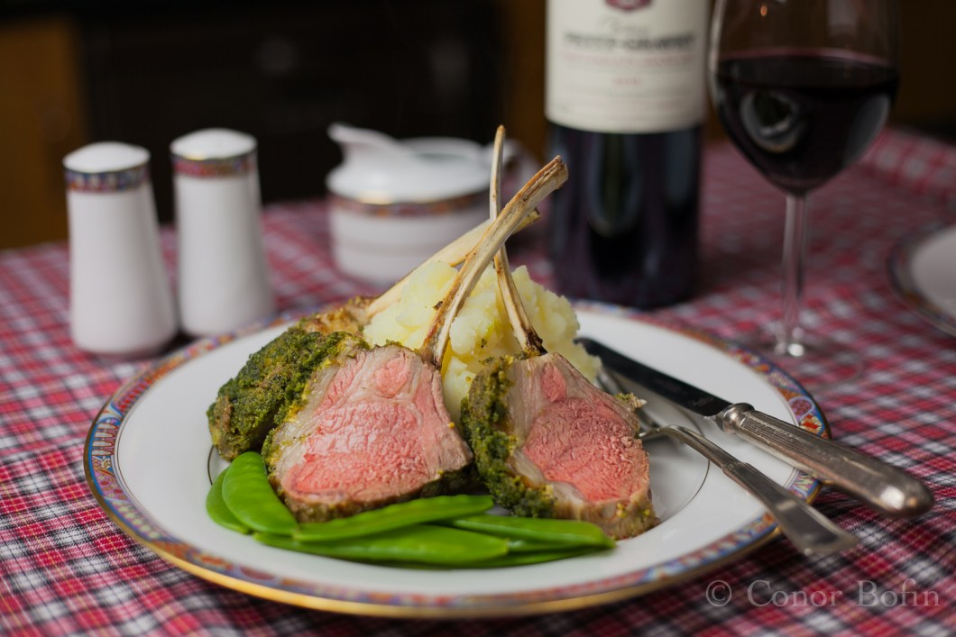 Herbed Rack of Lamb