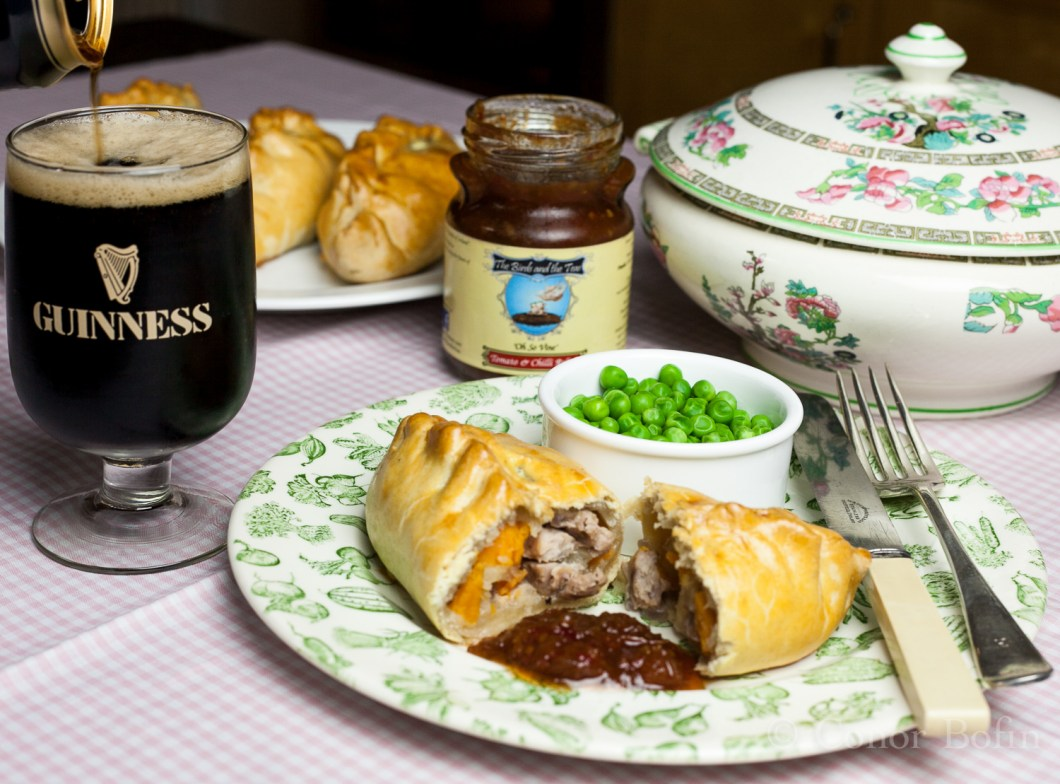 Guinness, chutney and some unprotected pasty action. Lovely!