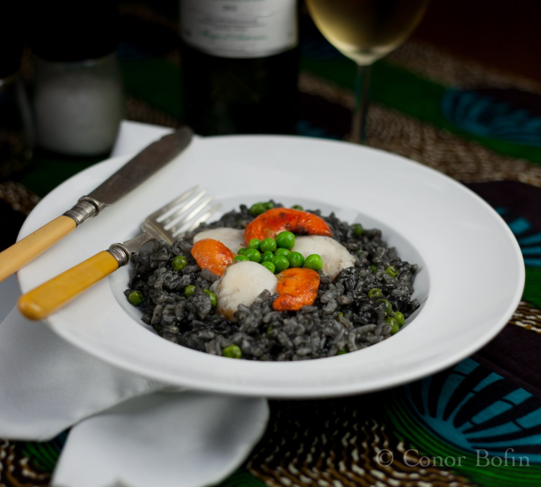Squid Ink Risotto (1 of 1)