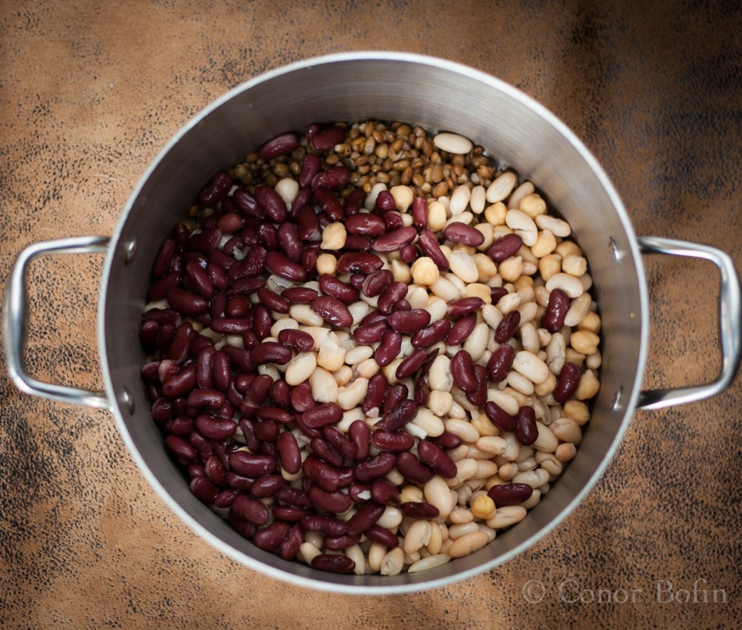 Plenty of roughage in the beans. They make a delicious side.