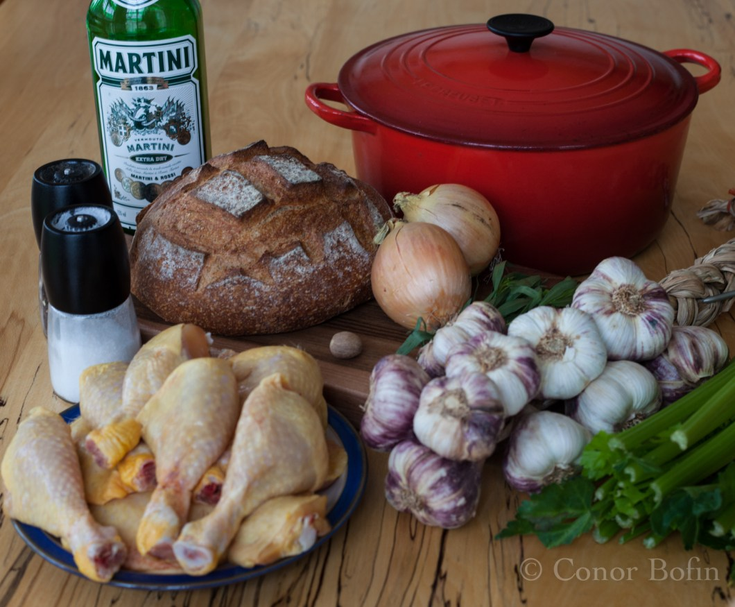 Cooking it was easier than writing about it. So few ingredients!