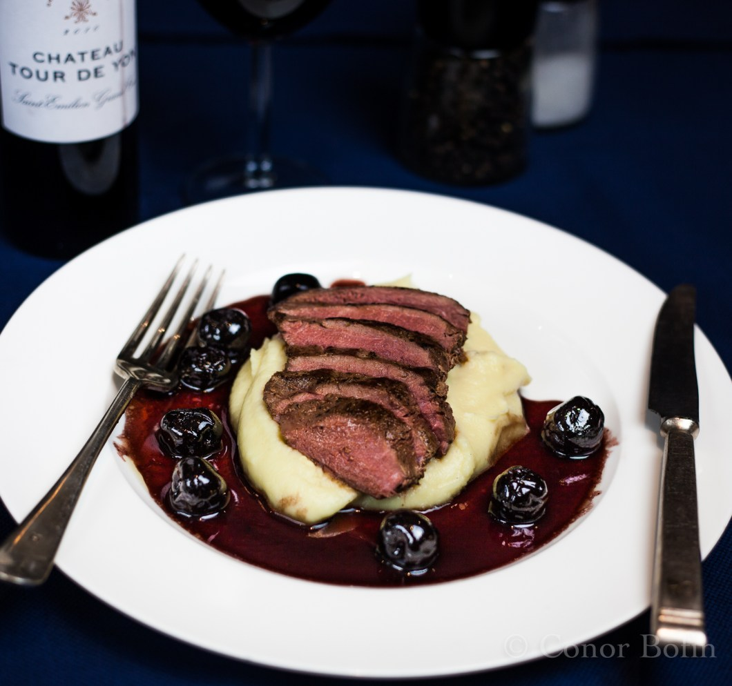 Ostrich with armenia cherry sauce (15 of 15)