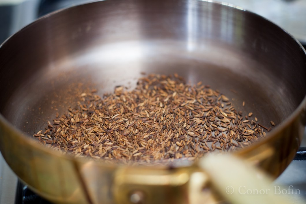I have dozens of shots of cumin frying. I shoot it each time.