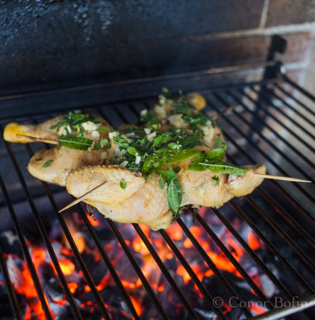 Barbecue Chichen with fresh herbs (8 of 10)