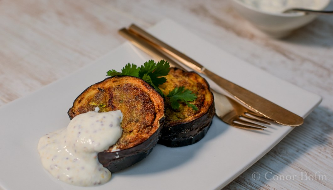 Stuffed Aubergine (2 of 3)
