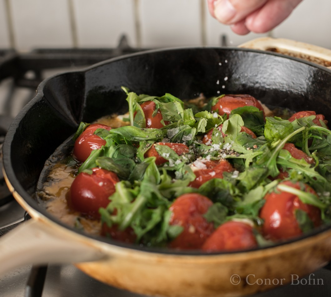 Tomato and feta skillet bake (6 of 9)
