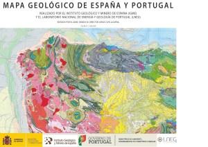 Carta Geologica Spagna e Portogallo