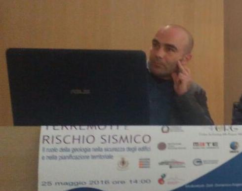 Geol. Giancarlo De Lisio, Presidente dell'Ordine dei Geologi della Regione Molise