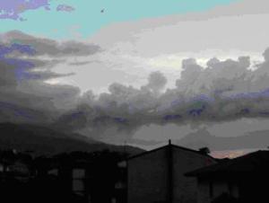 foto 3, Etna: ripresa da Tremestieri Etneo sul fianco meridionale del vulcano
