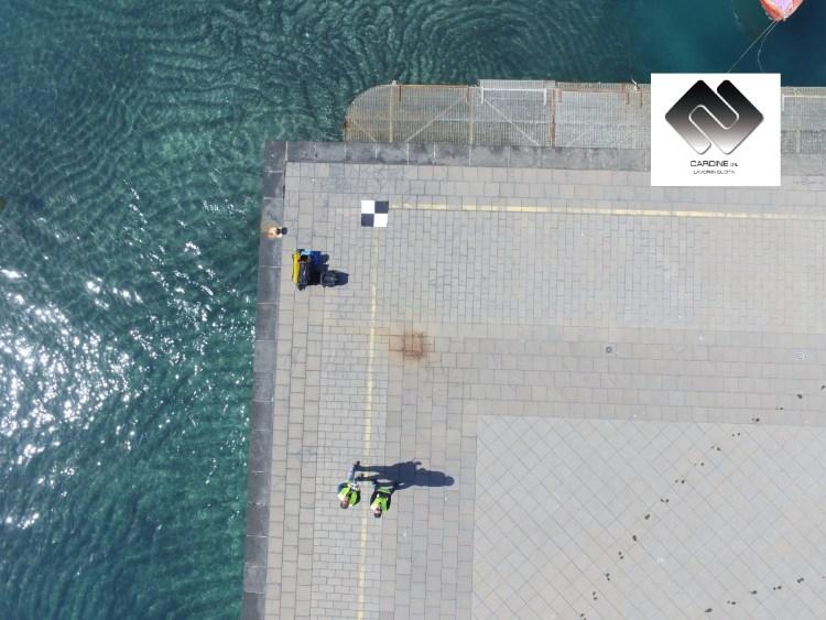 foto 3, uso dei SAPR (sistemi a pilotaggio remoto o droni)