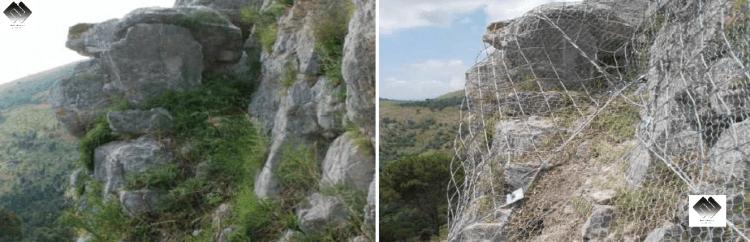 consolidamento costoni rocciosi 2