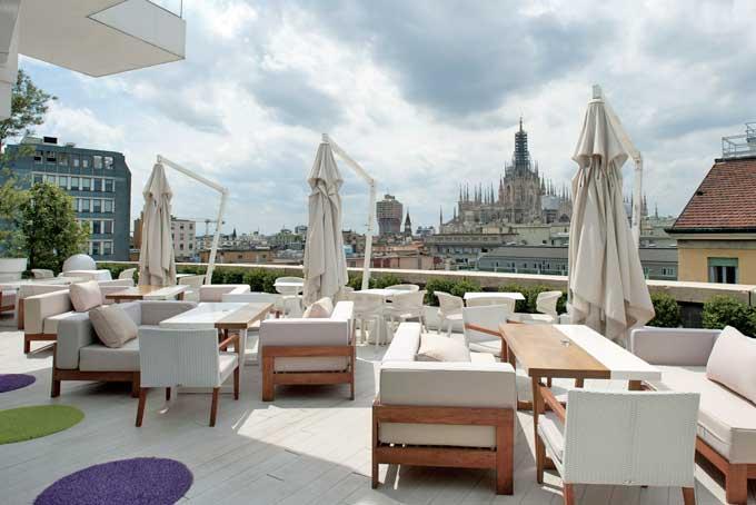 Terrazza Hotel Melia Milano