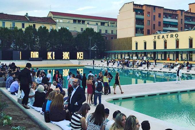 Lex Caimi diventa Bagni misteriosi teatro con piscina in centro