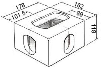 Standard ISO Container Corner Casting Drawing · Conpar Group