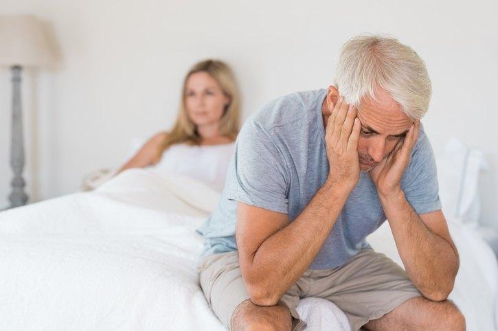 disfunción eréctil o impotencia en hombres adultos