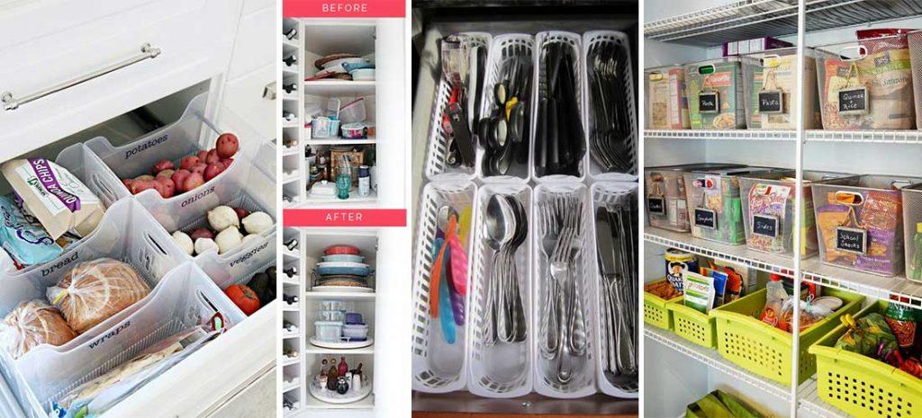 organizar cajones y estantes