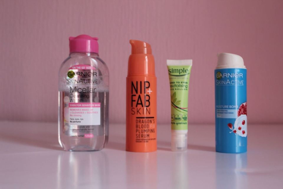 Skincare Routine Morning Routine Products