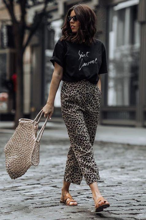 Leopard Print Trousers - Summer stye