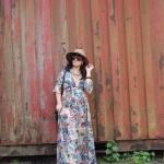 Floral Maxi Wrap-Dress 13