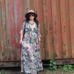 Floral Maxi Wrap-Dress 5