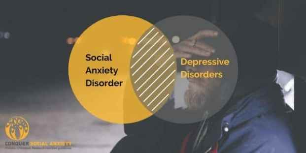 There is a significant overlapt between social anxiety and depression diagnoses.