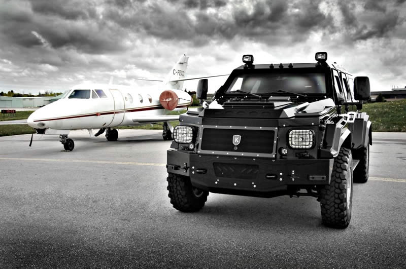 Armored Truck Side View