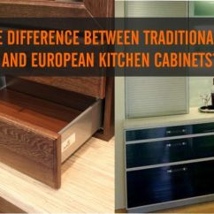 European Kitchens Kitchen Led Lights What S The Difference Between Traditional American And Cabinets