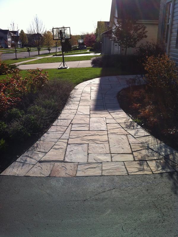 Brick and Natural Stone Paver Walkways  Landscape Design