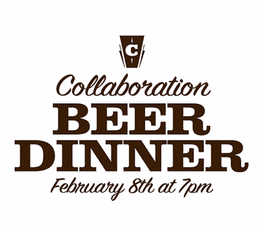February Collaboration Beer Dinner