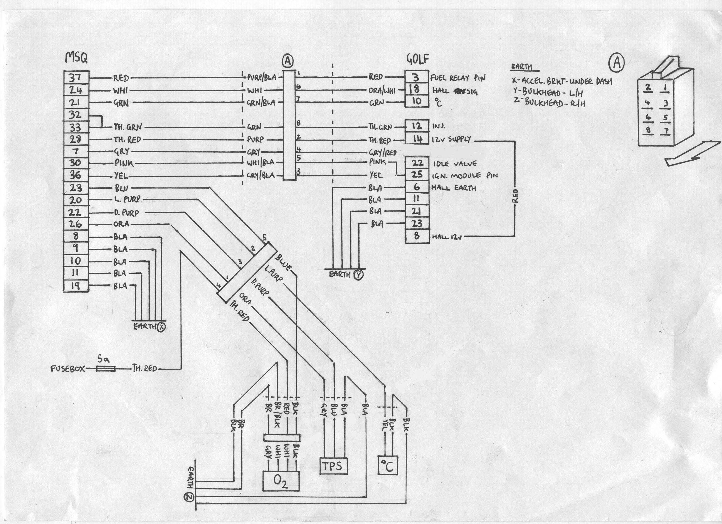 [WRG-5047] Vw Mk2 8v Engine Diagram