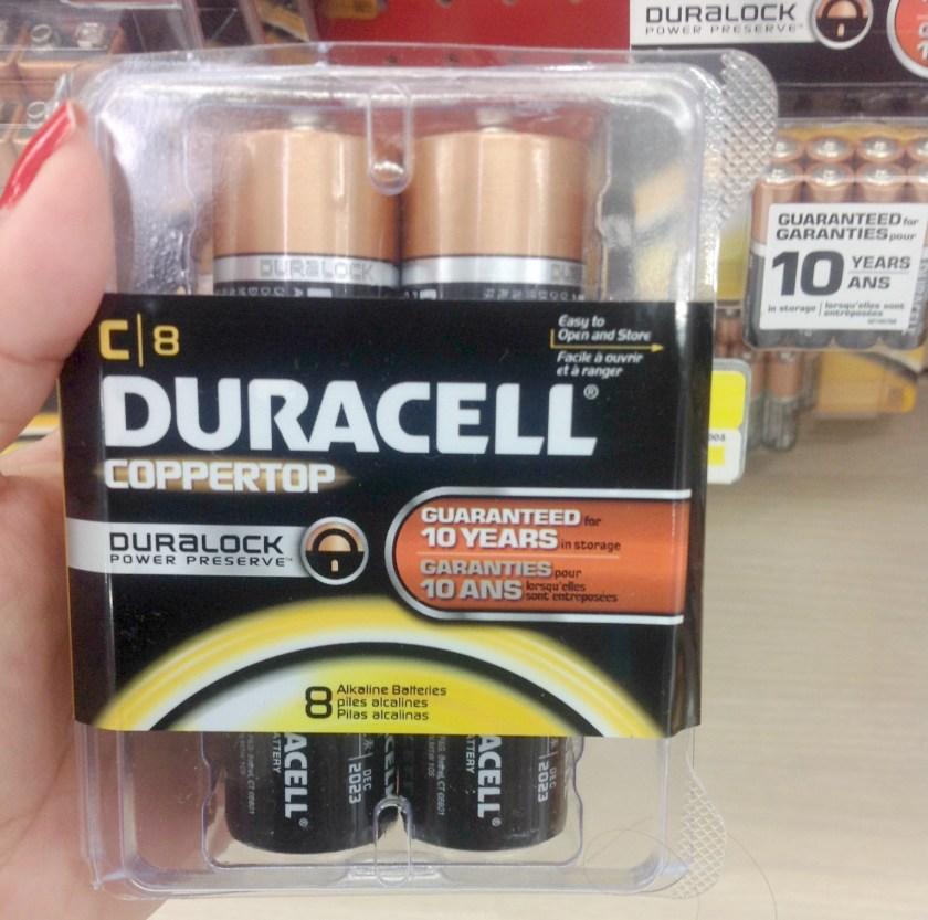 Con las baterías Duracell estoy preparada para cualquier emergencia #PrepWithPower #shop