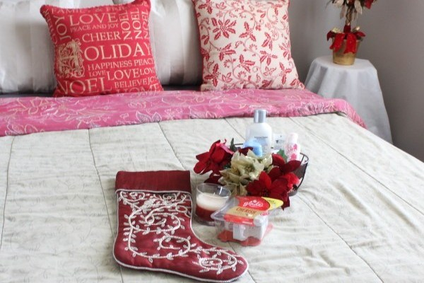 Tansformando la habitación de huéspedes para la temporada de fiestas con Glade® Holiday Collection #SienteGlade #shop