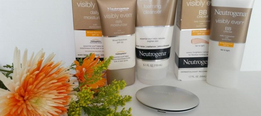 Nueva colección Neutrogena® Visibly Even®