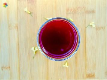 Kvas de remolacha y jengibre