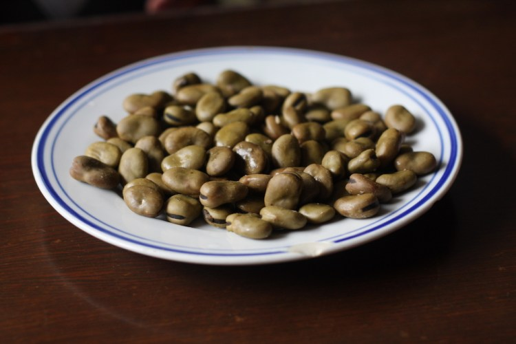 Aniseed-flavoured broad beans, Shaoxing