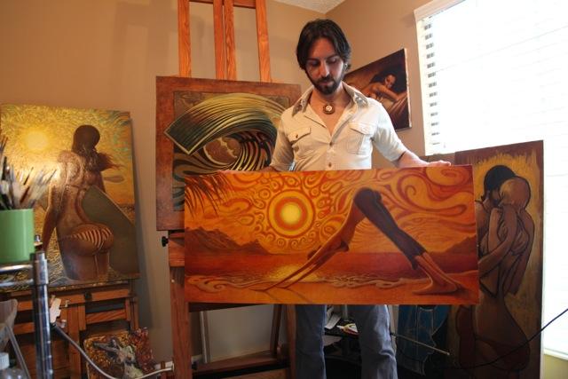 Jay Alders Surf Art