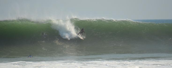 Surfing Popoyo Nicaragua