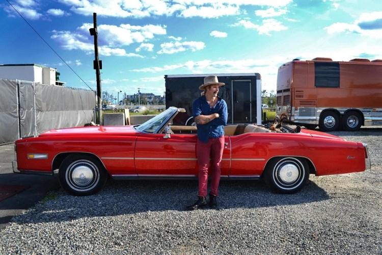 Donavon Frankenreiter with Cadillac Eldorado