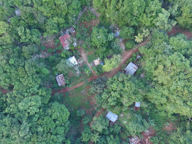 El Choco - Drone shot of the village in the daytime