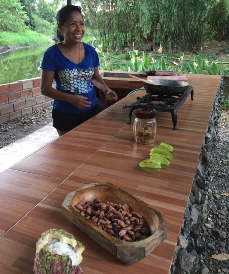Ecuador Cocoa Farm