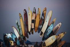 SeaHearNow Surfboard Art Installation