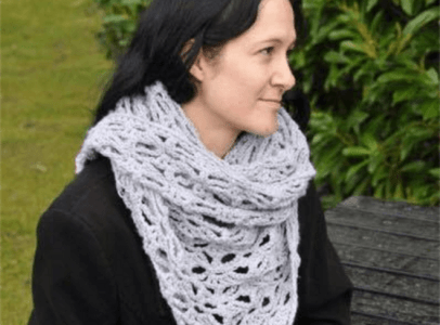 Summer wrap / shawl - 'Jennys'