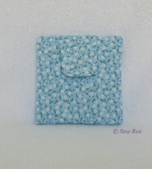 Fabric purse, any colour and a range of sizes