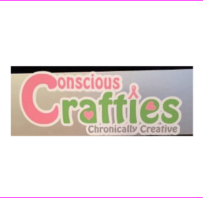 Conscious Crafties Car Sticker