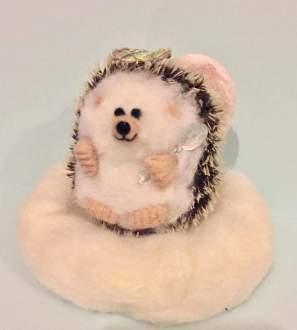 Spoonie Guardian Angel Hedgehog Conscious Crafties