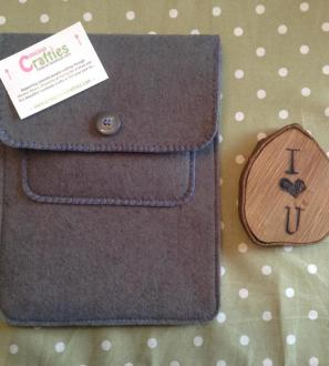 Personalised Felt iPad Tablet Sleeve Holder